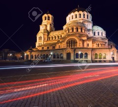 16452081-Alexander-Nevski-Cathedral-in-capital-of-Bulgaria-Sofia-Stock-Photo