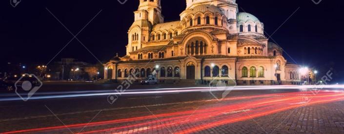 16452081-Alexander-Nevski-Cathedral-in-capital-of-Bulgaria-Sofia-Stock-Photo